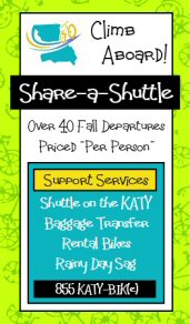 Katy Bike Rental and Shuttle