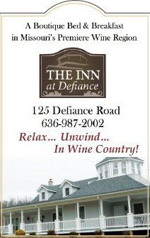 The Inn at Defiance, Defiance MO