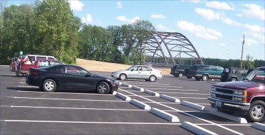 Page Ave Bridge Parking Lot